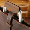 , Stylish Slim-line Genuine Leather Briefcase, Urbane London