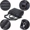 , CONTACT'S – Men Briefcase Genuine Leather Large Business Messenger Bag Casual Shoulder Bag For Laptop, Urbane London