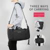 , MARK RYDEN – Travel Luggage Bag High Capacity Water Resistant Rucksack Men's Convertible Duffle Bag/Backpack, Urbane London