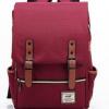 , Unisex retro fashion canvas shoulder bag backpack large travel rucksack, Urbane London