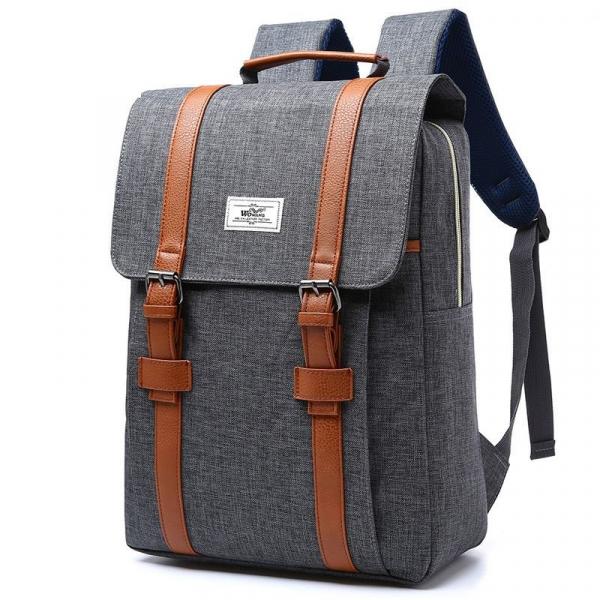 , Wowang – Vintage Style Unisex Canvas Fashion Backpack, Urbane London