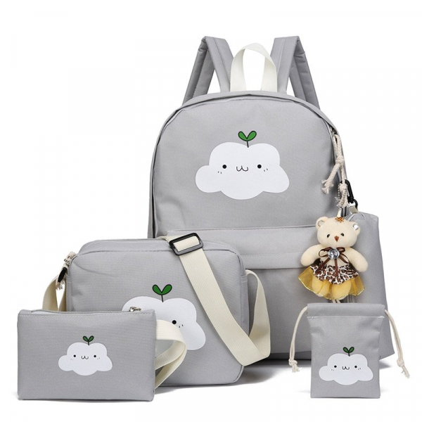 , Fashion Nylon Backpack School bag School For Girl Teenagers Casual Travel Bags Rucksack Cute Cloud Design, Urbane London