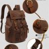, AUGUR – Unisex Vintage Canvas Backpack, Urbane London, Urbane London