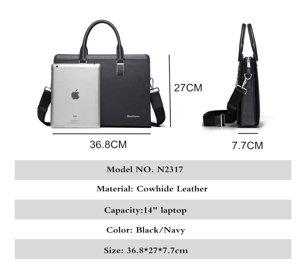 ", 14"" Laptop Cross-body Shoulder Bag, Urbane London"