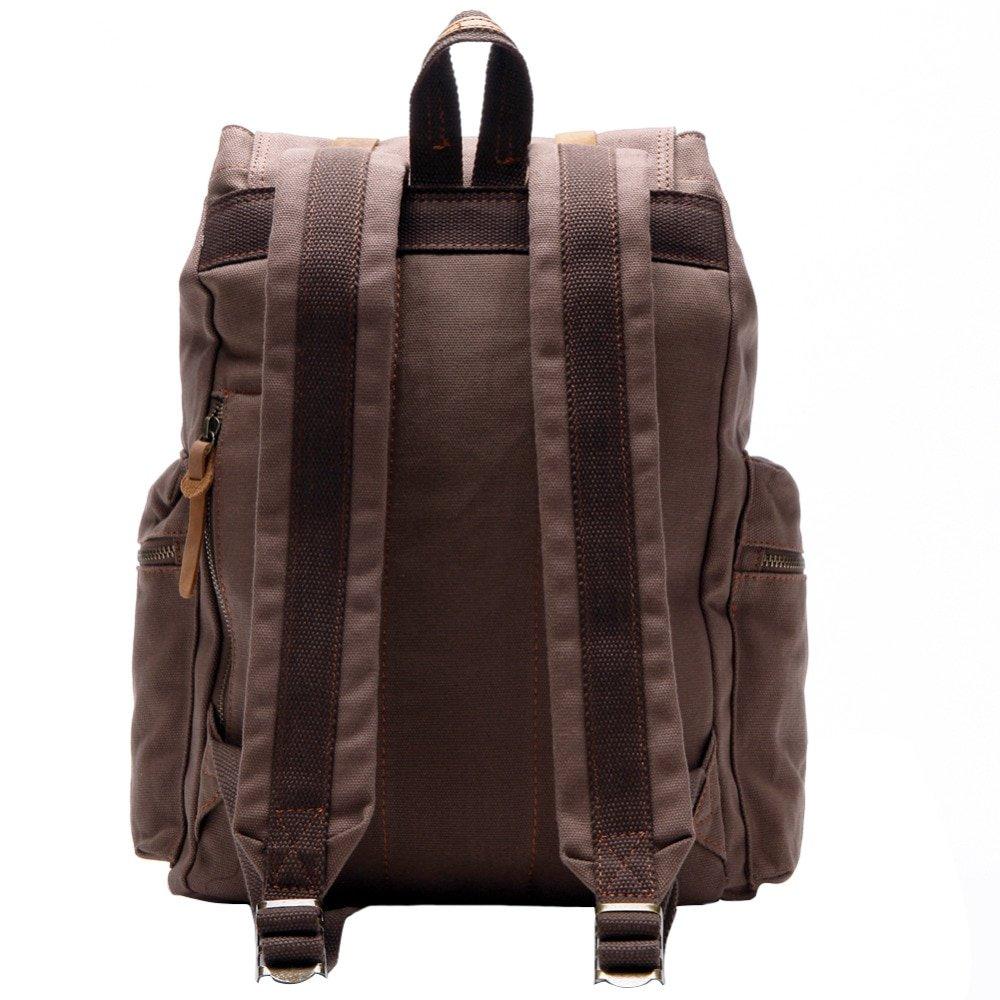 , Berchirly – Vintage Leather Military Backpacks Unisex Rucksack Travel Bag, Urbane London