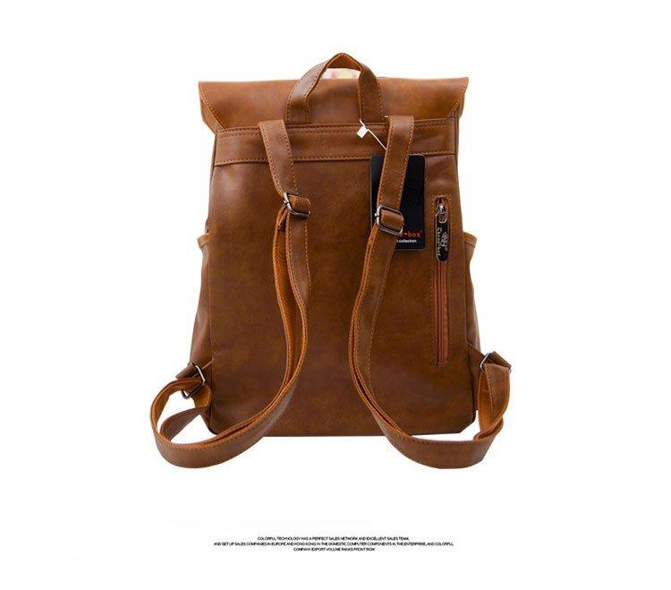 , ThreeBox – Women's leather fashion backpack travel rucksack, Urbane London
