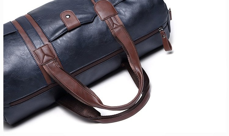 , Large Capacity Men's Travel Bag Casual Crossbody Tube Duffle, Urbane London