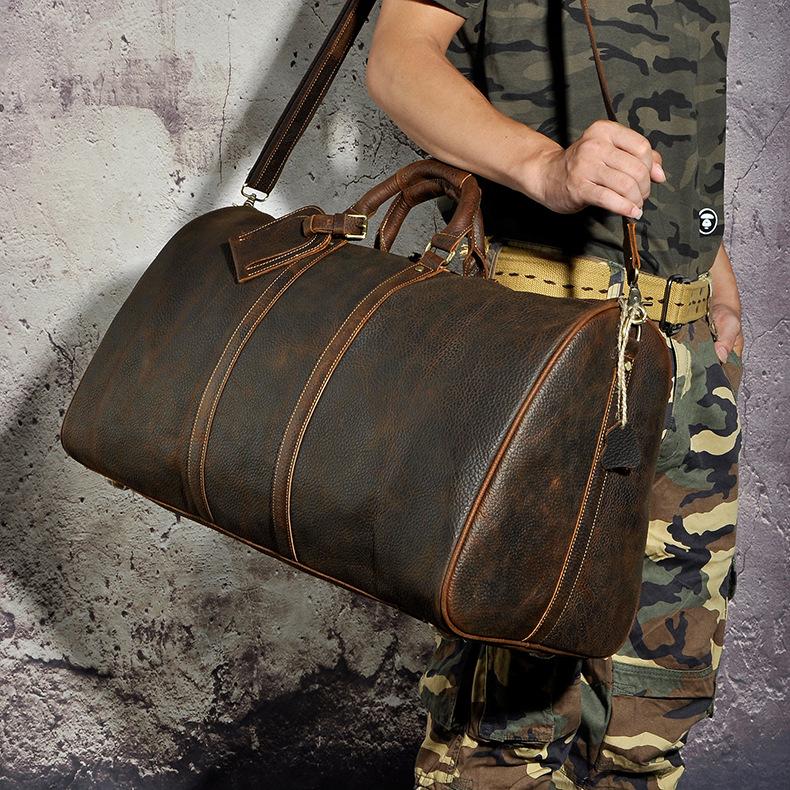 , Large Capacity Men's Duffle Travel Luggage Bag Messenger Oxford Shoulder Strap Case, Urbane London