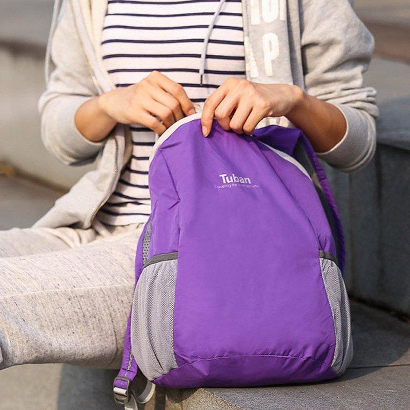, TUBAN – Ultra Lightweight Ultra Compact Foldable Nylon Waterproof Travel Backpack Rucksack, Urbane London