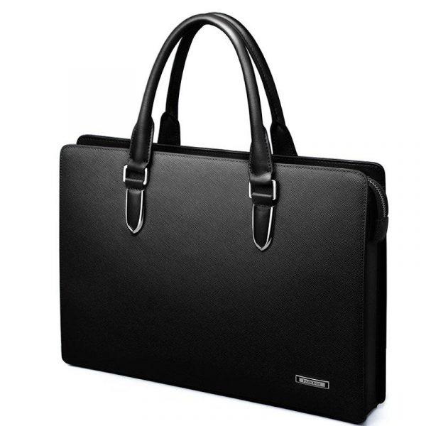 Genuine Leather Laptop Case, Men's Sleek Genuine Leather Laptop Case, Urbane London