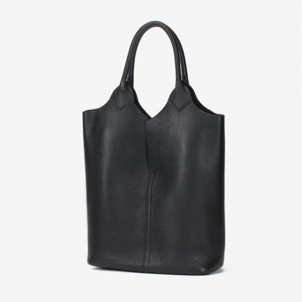 Leather Tote Shopper, Lady's Classic Luxury Leather Tote Shopper, Urbane London