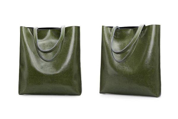 Large Leather Shoulder Bag Tote, Lady's Large Leather Shoulder Bag, Urbane London