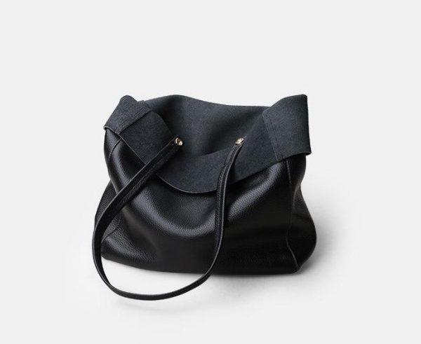 Luxury Shoulder Bag, Genuine Cowhide Leather Women's Luxury Shoulder Bag, Urbane London