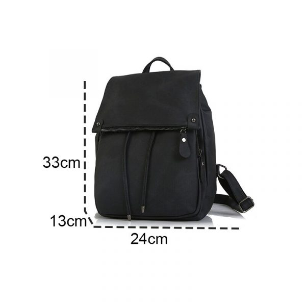 Drawstring Day Pack, Lady's Stylish and Spacious Drawstring Day Pack, Urbane London