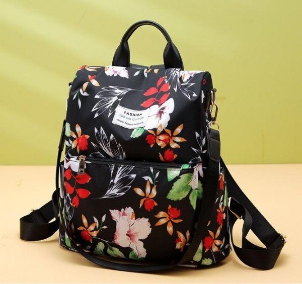 durable backpack, Ladies Durable Patterned Oxford Fabric Day Pack, Urbane London